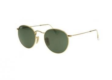 Óculos De Sol Ray-ban Round Metal Rb3447l 001