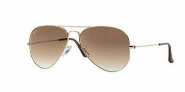 Óculos De Sol Ray-ban - Rb3025l 001/51 58-14 Dourado