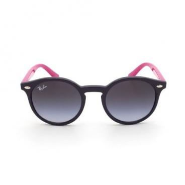 Óculos De Sol Ray-ban Infantil Rj9064s 7021/8g 44-19 Redondo