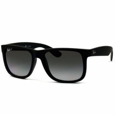 Óculos De Sol Ray-ban Justin Rb4165l 622/t3 55 Polarizado