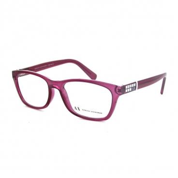 Armação De Óculos Armani Exchange Ax 3006l 8138 52-16 135