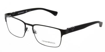 Armação De Óculos Empório Armani Ea1027 3001 55-18 Preto