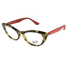 Armação Óculos de Grau Feminino Ray Ban RB4314-V 5937 Nina Vermelho