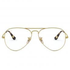Armação Óculos De Grau Ray-ban Rb6489 3033 58-14 140 Aviador