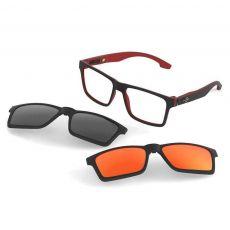 Armação Óculos de Grau Mormaii Swap M6057 AA9 56 8b35ab51f4