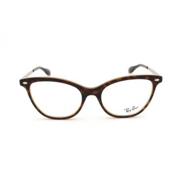 Armação Óculos de Grau Ray-Ban RB5360 5713 Marrom Havana Rosê