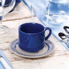 Conjunto de Xícaras de chá Donna Grécia 12 peças