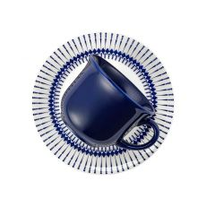 Conjunto de xícaras e pires 12 Peças  Actual Colb Biona Oxford