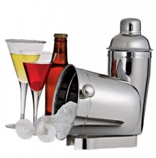 Conjunto para Bar com Coqueteleira Aço Inox Euro Home 03 Peças
