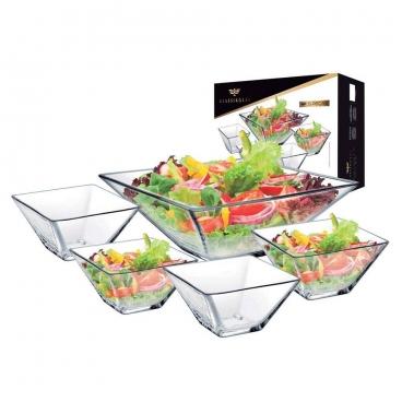 Conjunto para saladas Milão 5 peças Ruvolo
