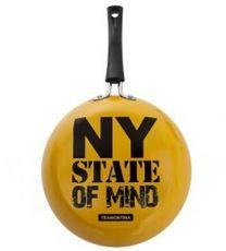 Frigideira Amarela Ny State Of Mind Tramontina 24cm