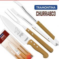 Kit Para Churrasco Barbecue Set - 3 Peças - Tramontina
