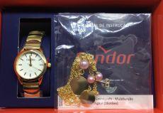 Kit Relógio Condor Feminino Co2035kmy/k4k