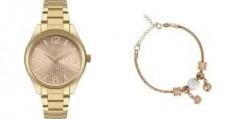 Kit Relógio Condor Feminino Co2035KXR + Pulseira