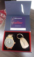 Kit Relógio Condor Masculino CO2036KWE/K4P