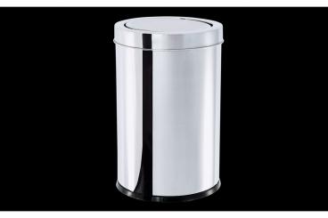 Lixeira Inox com Tampa Basculante 7,8 litros  Decorline - Brinox
