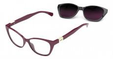Óculos Clip On Feminino Colcci C6122 C23 52 Armação+Solar