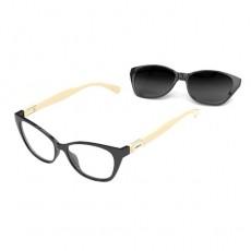 Óculos Clip On Feminino Colcci C6123 AGX 52 Armação+Solar