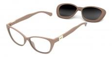 Óculos Clip On Feminino Colcci C6123 B28 52 Armação+Solar