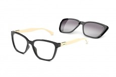 Óculos Clip On Feminino Colcci C6149 AGX 57 Armação+Solar