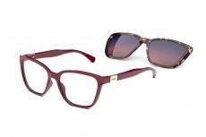 Óculos Clip On Feminino Colcci C6149 C23 57 Armação+Solar