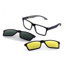 Óculos Clip On Masculino Mormaii Swap NG DUO M6098 AGA 56