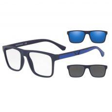 Armação Óculos de Grau Empório Armani EA4115 5759/1W 54 Clip on Azul