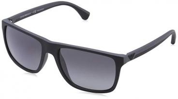 Óculos De Sol Empório Armani Ea4033 5229/t3 Preto Fosco Polarizado