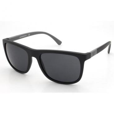 Óculos De Sol Empório Armani Ea4079 5042/87 Preto Fosco
