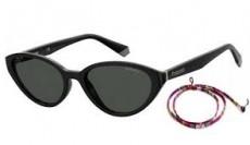 Óculos de Sol Feminino Polaroid PLD6109/S 807M9 Com Cordão