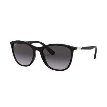 Óculos de Sol Ray-Ban Feminino RB4317L 601/8G 56 Preto Brilho