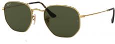Óculos de Sol Ray-Ban Hexagonal Rb3548-n 001/58 51 Polarizado