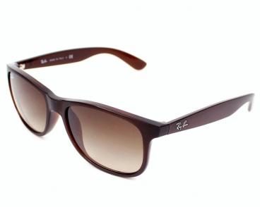 Óculos De Sol Ray-ban RB4202 ANDY 6073/13 Marrom Fosco
