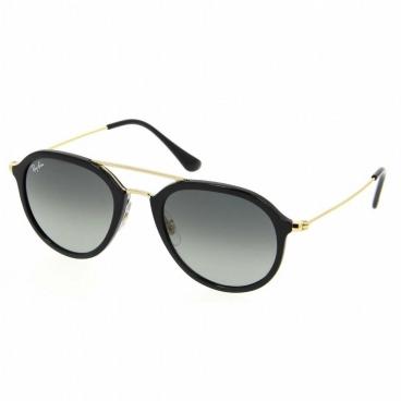 Óculos De Sol Ray-ban RB4253 601/71 53-21 145 Preto e Dourado