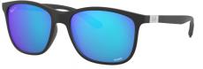 Óculos de Sol Ray-Ban Rb4330-ch 601-s/a1 56-17 Chromance Polarizado