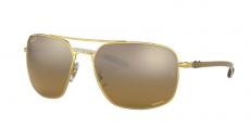 Óculos de Sol Ray-Ban RB8322CH 001/A3 62-17 Chromance Polarizado Fibra de Carbono