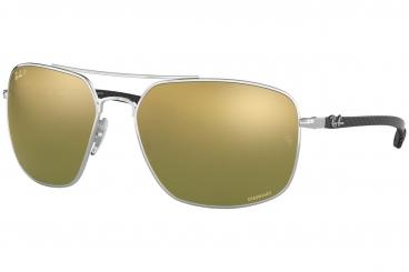 Óculos de Sol Ray-Ban RB8322-CH 003/6O 62-17 Chromance Polarizado Fibra de Carbono