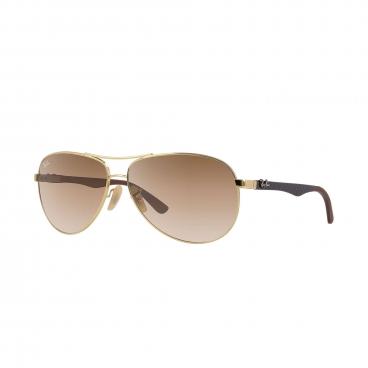 Óculos de Sol Ray-Ban Unissex RB8313 001/51 Fibra de Carbono