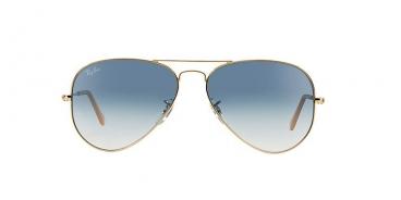 Óculos Solar Ray-ban Rb3025l 001/3f  62-14  Aviador Dourado