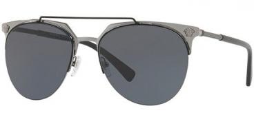 Óculos Solar Versace Mod. 2181 1001/87 57-18 140