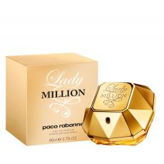 Perfume Paco Rabanne Lady Million Feminino 80ml Eau de Parfum