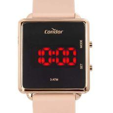 Relógio Condor Feminino Digital Led Rosê COJHS31BAD/2J