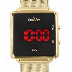 Relógio Condor Unissex Digital Led Dourado COJHS31BAA/4X