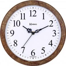 Relógio de Parede Analógico Herweg Amadeirado 660073 323