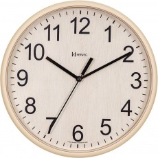 Relógio de Parede Analógico Herweg Bege 660082 324