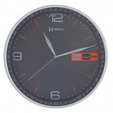 Relógio de Parede Analógico Herweg Cinza 6415 024