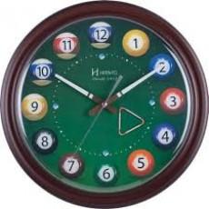 Relógio de Parede Analógico Herweg Marrom 6469 084