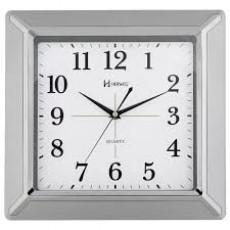 Relógio de Parede Analógico Herweg Prata 6269 070