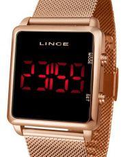 Relógio Digital Lince Rosê MDR4596L PXRX 681922