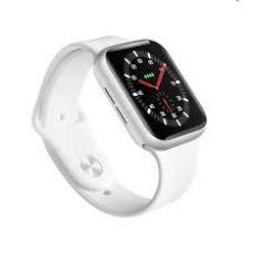 Relógio Digital Smart Watch IWO 8 Branco Com GPS
